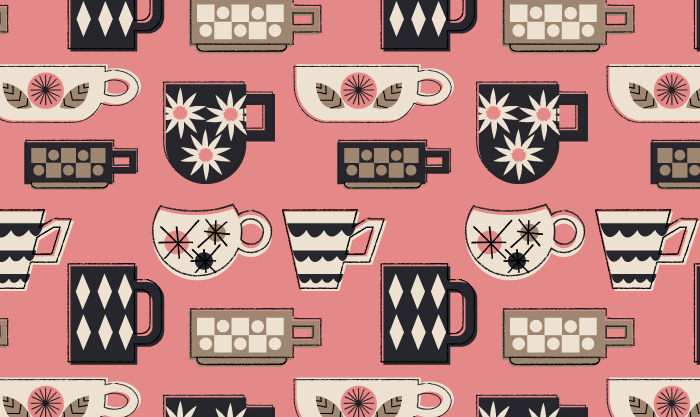 Melissa Ormonde Guzman Surface Pattern Design Morning Brew
